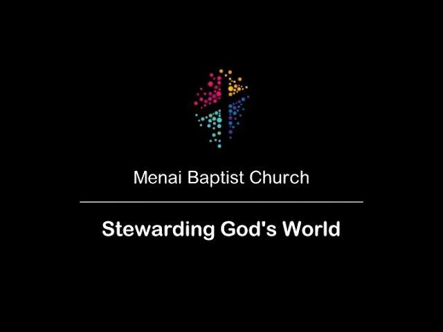 MBC 01-Nov-20 - Stewarding God's World