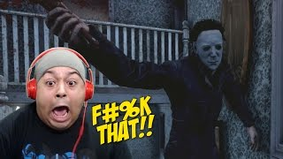 OMFG! THIS SH#T TOO INTENSE!! [MICHAEL MYERS] [DEAD BY DAYLIGHT] [DLC]
