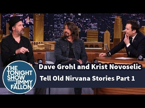 Dave Grohl and Krist Novoselic Tell Old Nirvana Stories  Part 1