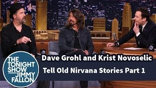 Download Dave Grohl and Krist Novoselic Tell Old Nirvana Stories - Part 1 Mp3 and Videos