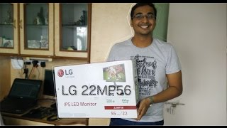 LG 22MP56 IPS LED Monitor Unboxing and first impression