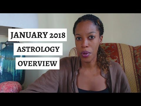 The Astrology of JANUARY 2018