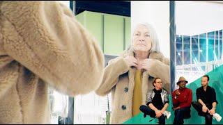 Vorher-Nachher: 68 Jahre alt, steht zu ihrem Alter und hat Lust auf ein Umstyling mit Pfiff! WOW!