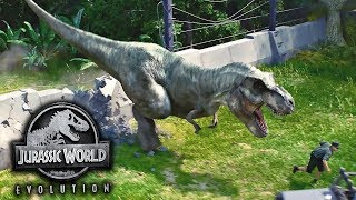Jurassic World Evolution - Mega tempestade só dor de cabeça
