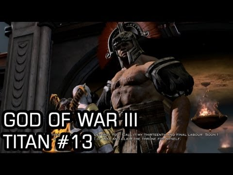 God of War III (Titan,PS3) #13 The Forum, Hercules