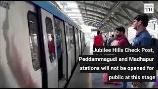 Hyderabad metro to HiTec city inaugurated