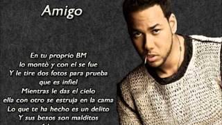 Amigo - Romeo Santos (Formula Vol.2) BACHATA 2014 LETRA