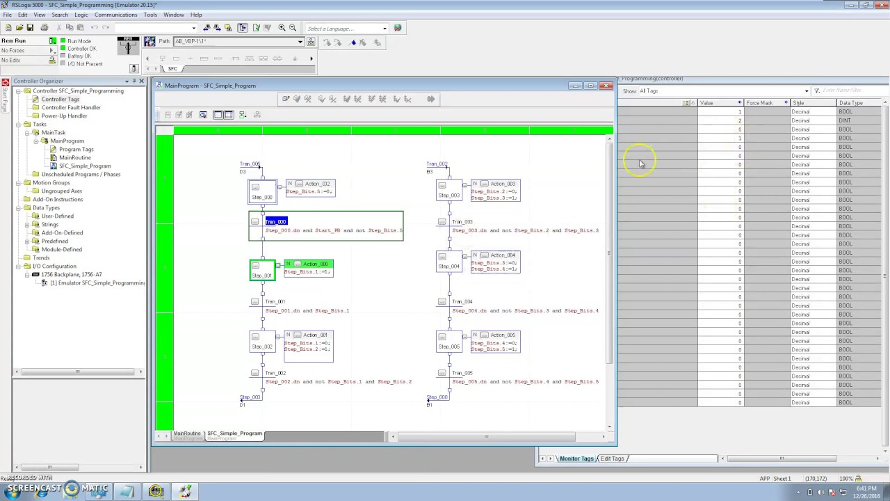 Sfc programming functions with rslogix 5000 hd youtube sfc programming functions with rslogix 5000 hd ccuart Choice Image