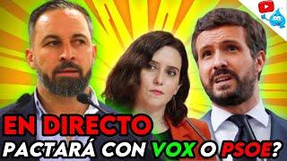 VOX PACTARÁ CON EL PP?, CASADO LA LÍA y AYUSO ADOPTA LAS MEDIDAS DE VOX. DIRECTO DE LOS VIERNES 119