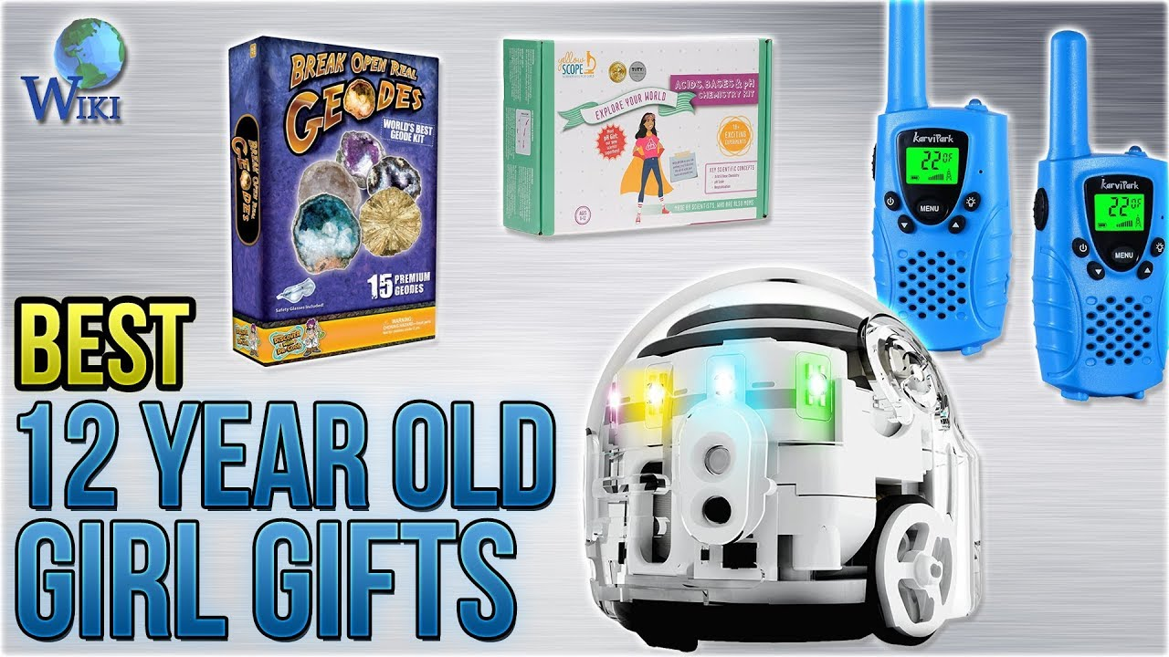 10 Best 12 Year Old Girl Gifts 2018