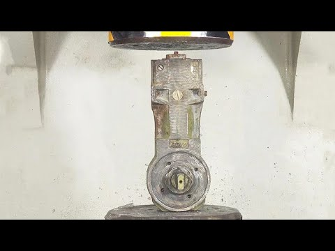 Powerful Hydraulic Press That Can Crush Anything