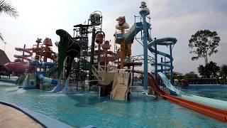 Pattaya - Wasserpark Cartoon Network Amazone - Thailand