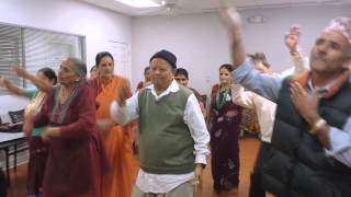 Nepali song Akashai Ma Group Dance In Atlanta Georgia
