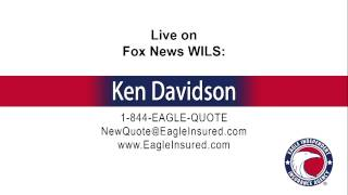 6/1/15 → Ken Davidson from Eagle Independent Insurance Agency live on News Radio