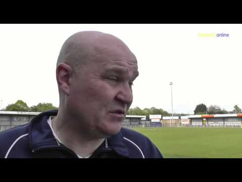 Havant & Waterlooville v Eastleigh  Goal & reaction