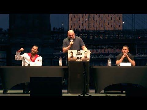 UFC 244: Пресс-конференция