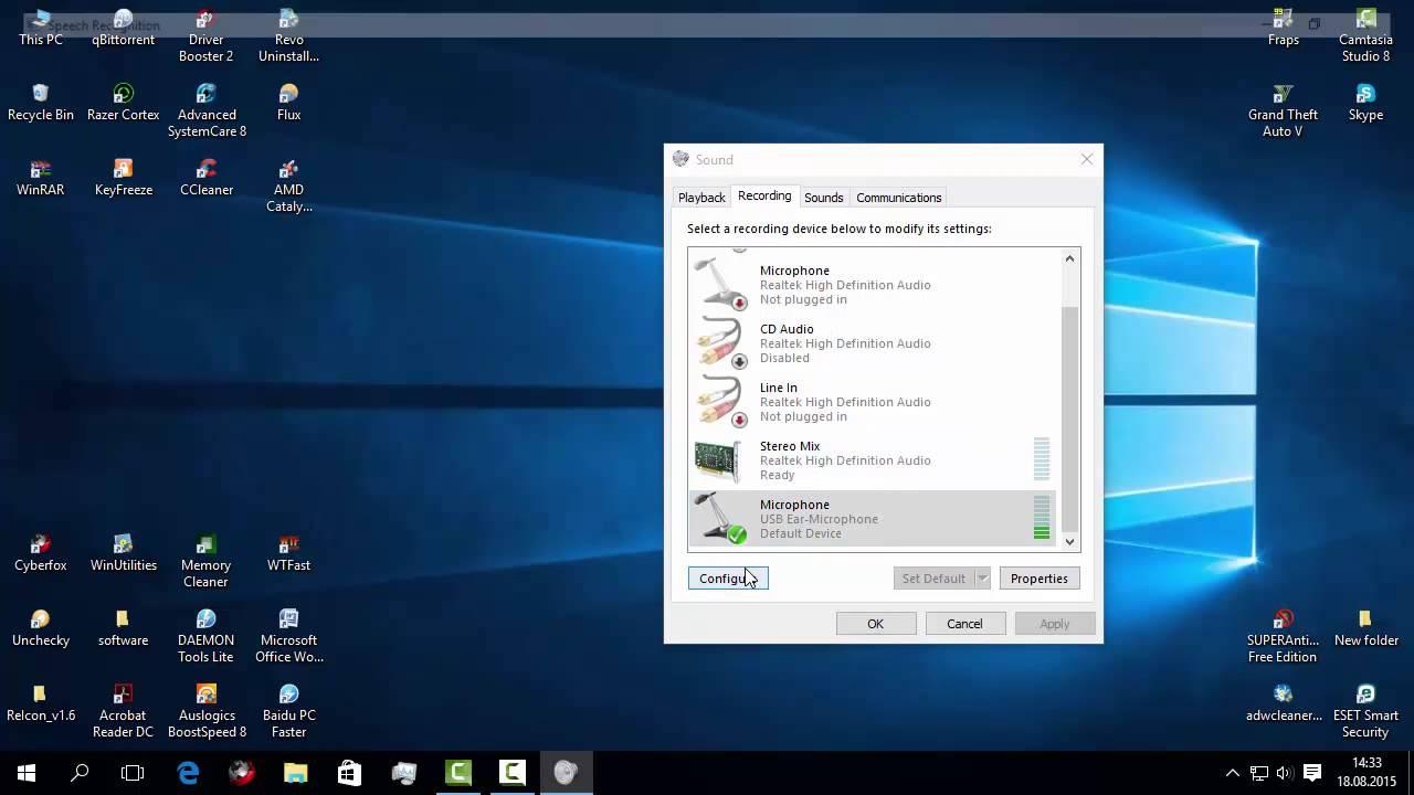 Cum putem repara microfonul din Windows