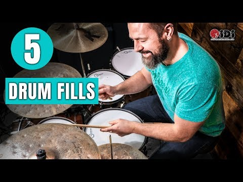 5 Drum Fills You Can Use TODAY | Drum Fills | Stephen Taylor Drum Lesson