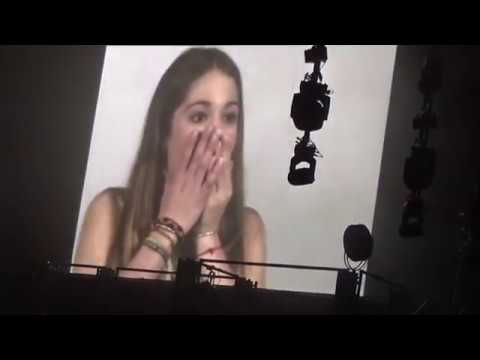 Tini Got me started tour Berlin - Violetta casting
