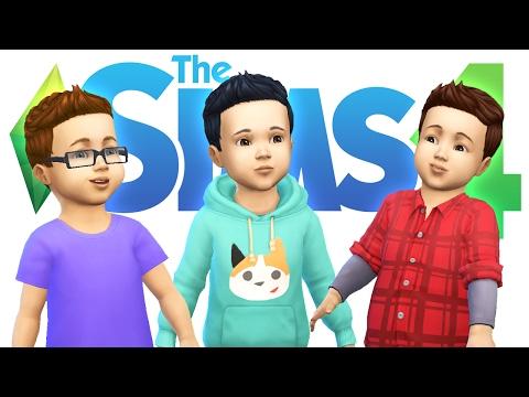 Baby Denis, Alex & Corl! - SIMS 4 BABIES
