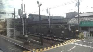 近鉄22000系 モ22125 名阪特急大阪難波⇒近鉄名古屋間の車窓