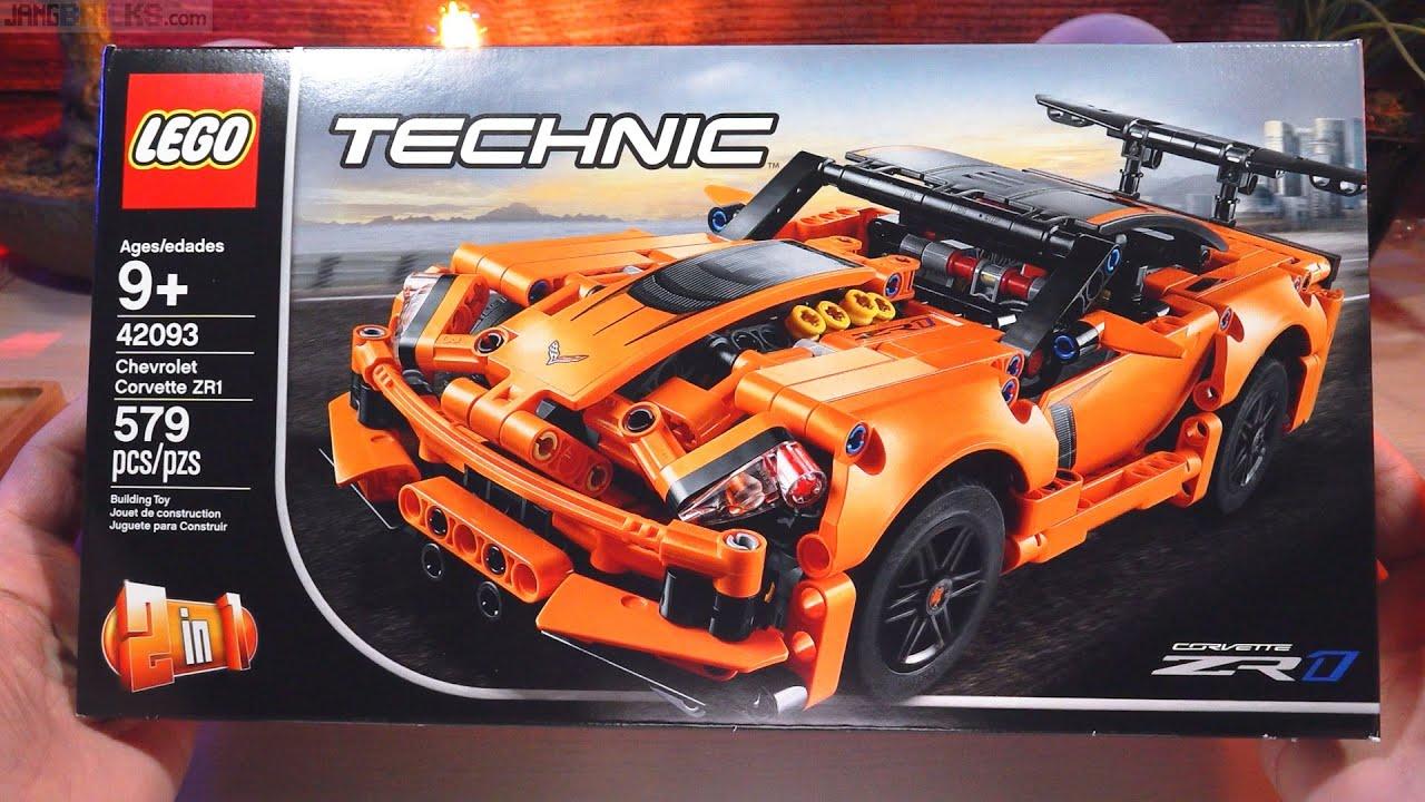 Lego Build Technic Corvette Zr1 42093 Timelapse Youtube