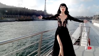 Seine River floating runway by Jessica Minh An TEASER 2017 by Fashion Channel