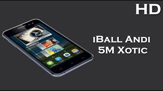 iball andi 5m xotic comes with 5 0 inch display 2000mah battery 2gb ram android 4 4 kitkat