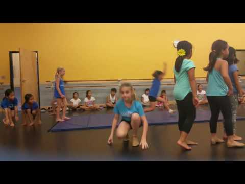 2016 Pacific Dance summer camp - dance #1