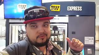 Best Buy Express Disposable Phones Tech / Accessories Being Sold At Kiosk