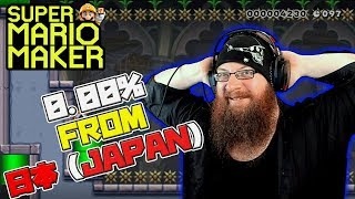 0.00% LEVELS FROM JAPAN! - Super Mario Maker - OSHIKOROSU TAKES ON TEAM 0% LEVELS!
