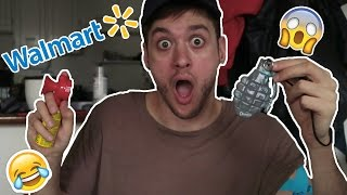 TESTING 10 WEIRD WALMART PRODUCTS!!