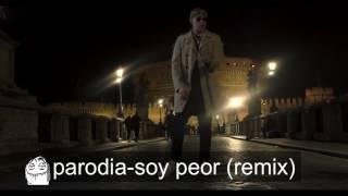 SOY PEOR REMIX (PARODIA)- BAD BUNNY FT J BALVIN,OZUNA & ARCANGEL,JEFRIDERMAN (Video oficial PARODIA)