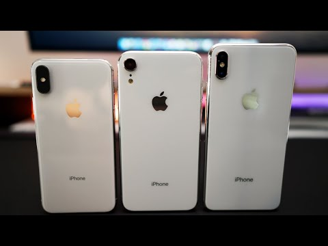 iPhone X Plus and iPhone 9 Prototypes - Hands on first look