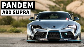 Pandem Perfection: Daniel Song's Widebody A90 Toyota Supra