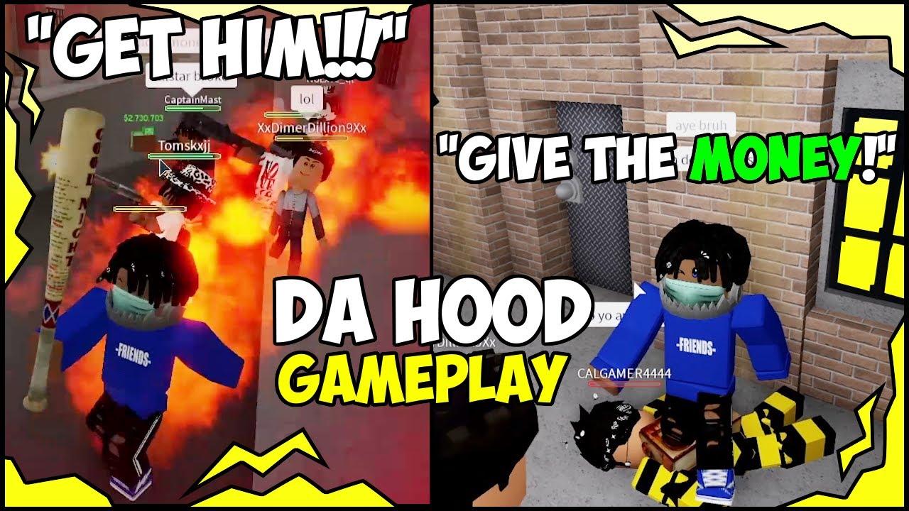 Download ROBBING IN DA HOOD GONE WRONG!!! (ROBLOX) 😂🔥🔥