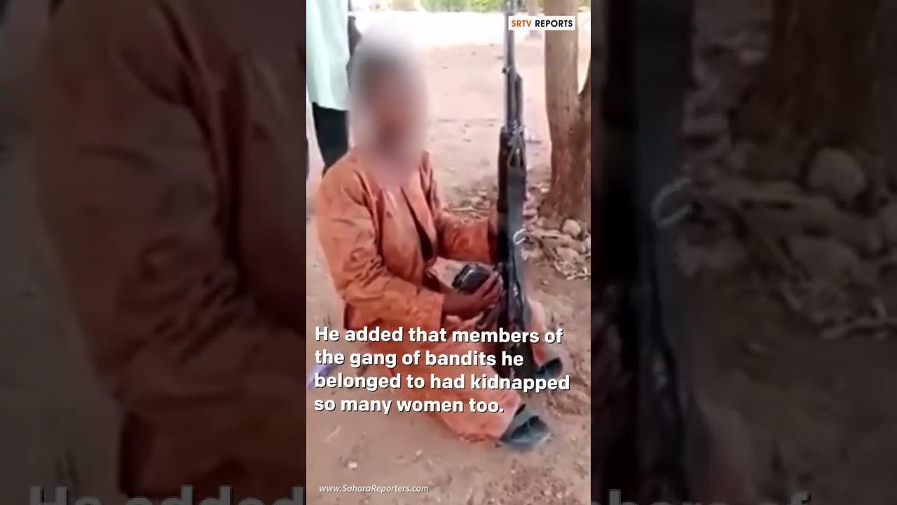 How We Kidnapped, Killed, Raped Women In Zamfara, Armed Teen Bandit Says In Video