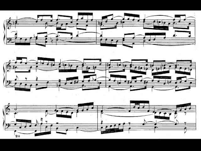 J.S. Bach. El clave bien temperado libro II. Preludio nº 1 en Do mayor BWV 870