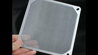 Самодельный ФИЛЬТР для Компьютера.(Самодельный фильтр для корпуса компьютера, для защиты от пыли.Фильтры чистится намного быстрее и проще..., 2016-04-07T16:05:37.000Z)