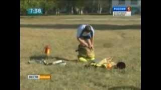 Уроки пожарной безопасности в школе №2 г. Терек.flv