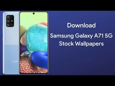 Samsung Galaxy A71 5g Stock Wallpapers Fhd With Download Link Youtube