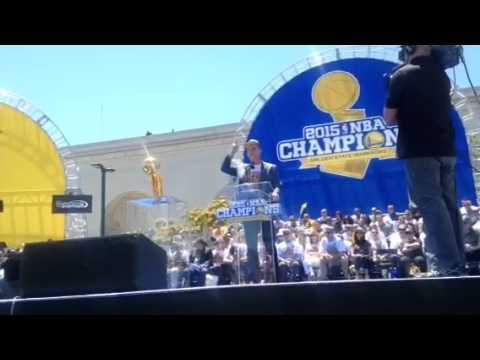 Joe Lacob Speech At Warriors Rally Oakland