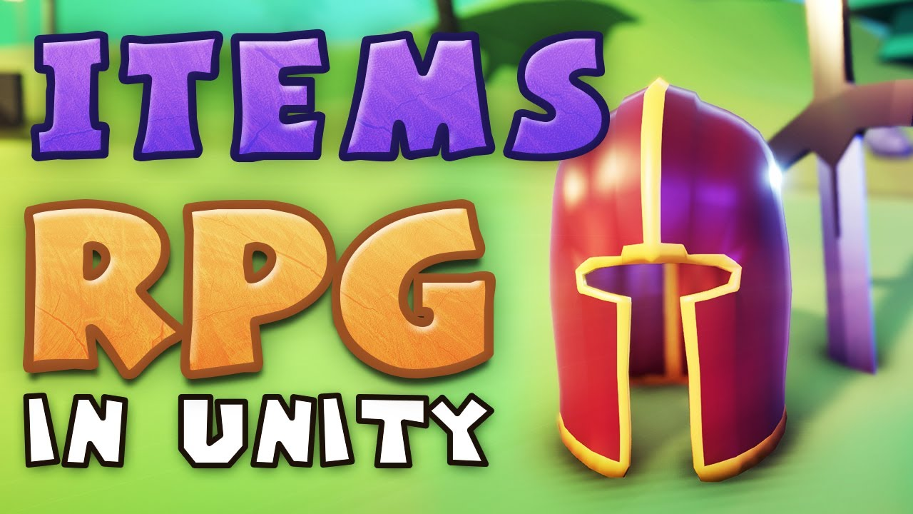 ITEMS - Making an RPG in Unity (E04)