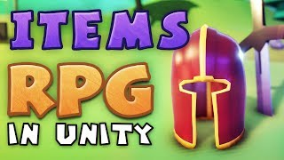 ITEMS  Making an RPG in Unity (E04)