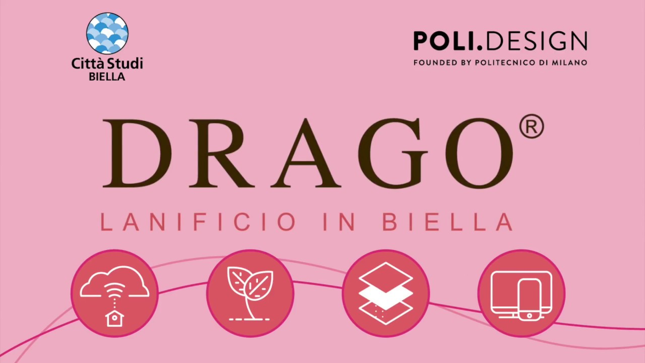 Master Fiber Design and Textile Processes I Drago Lanificio in Biella