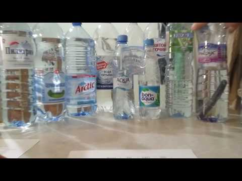 Тестирование воды в бутылках на PH, ОВП, ТДС.  3 способа активации воды.