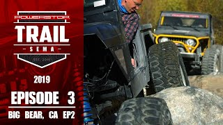 homepage tile video photo for Trail to SEMA 2019 - Episode 3: Big Bear CA Part-2