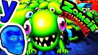 Толпа Зеленых Человечков и ПРоХоДиМеЦ Заселяют ГОРОД! #374 ИГРА для ДЕТЕЙ