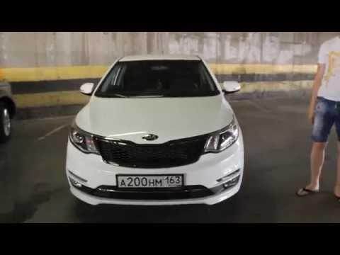 обзор автомобиля Киа Рио в новом кузове 2015