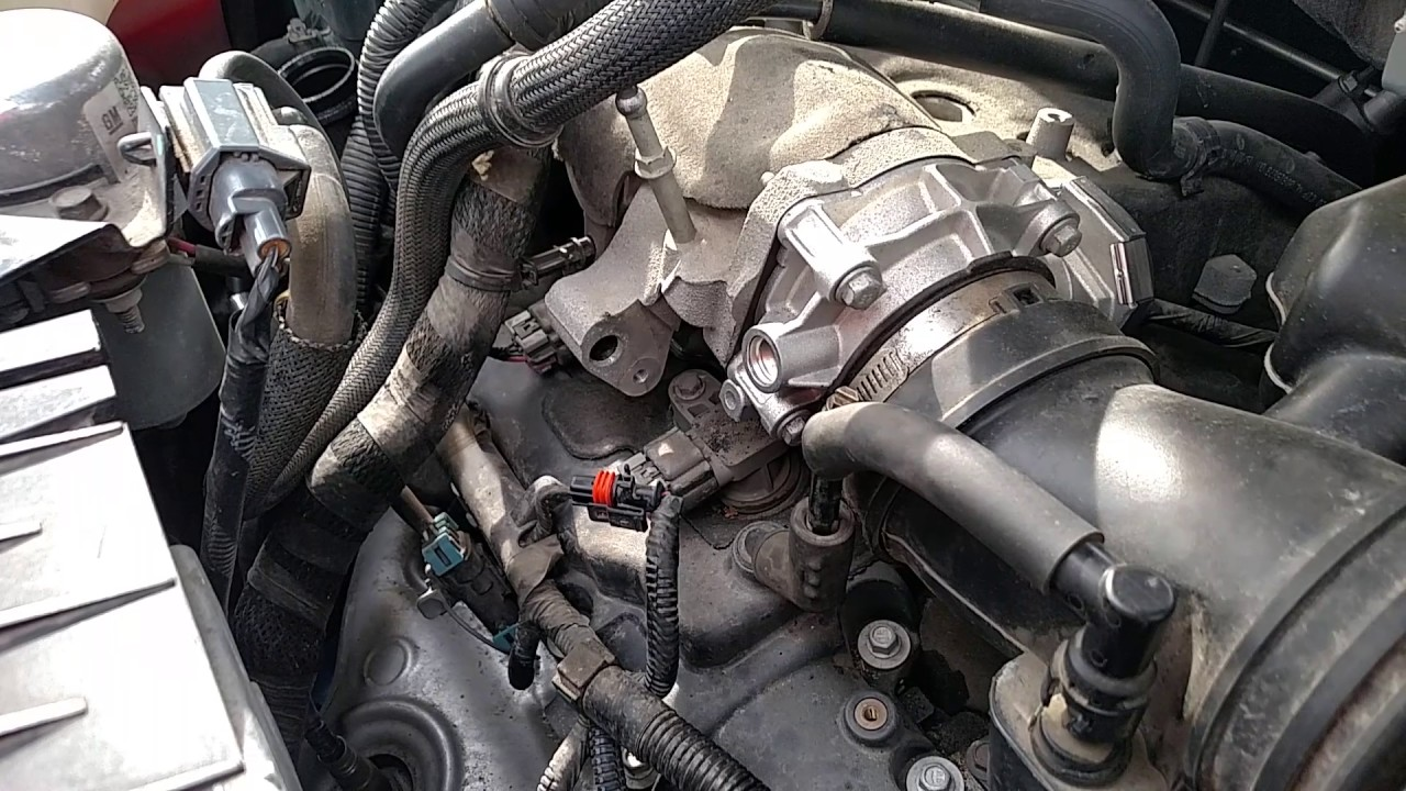 2001 Jeep Wrangler Starter Wiring Diagram Mazda Tribute Vacuum Chevy Traverse P0496 Evap System Code - Purge Valve Solenoid Replacement Youtube